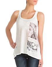 Photo-Printed Racer Back Tank Top