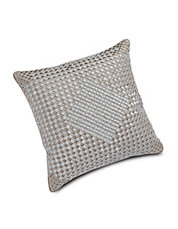 Beaded Sateen Throw Pillow