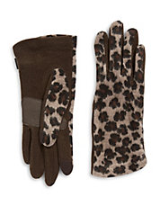 Touch Cheetah Back Gloves