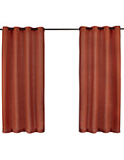Set Of Two Heavy Textured Curtain Panels