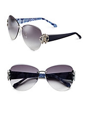 RC901S 63mm Rimless Butterfly Sunglasses