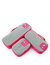 Pack ID 3 pc Slim Packing Cube Set   3 size