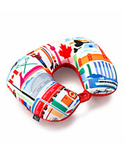 FVT Canada Two In One Travel Pillow
