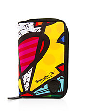 Romero Britto Passport Wallet