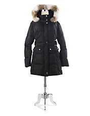 Faux Fur Trim Thermatec Puffer