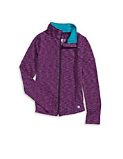 Stretch Zip-Up Activewear Jacket