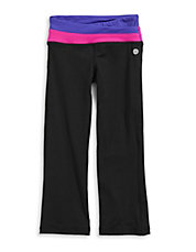 Colourblocked Stretch Yoga Pants