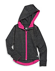 Hooded Yoga Zip Jacket