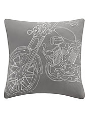 Motorcycle Decorative Cushion