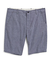 Dotted Soft Chino Shorts