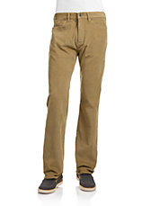 Five Pocket Straight Fit Pants
