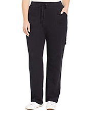 Plus French Terry Cargo Lounge Pants