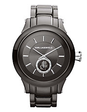 Karl Silver Stainless Steel Watch