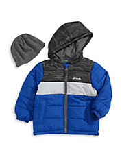 Bubble Jacket with Fleece Tuque