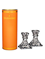 Giftology Lismore Candlestick Pair