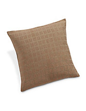 Prairie Windowpane Metallic Bar Cushion