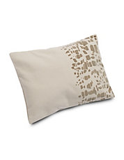 Gazelle Flocked Texture Pillow