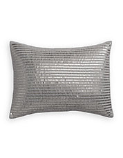 Sequin Stripe Throw Pillow