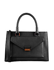 Amalia Leather Satchel