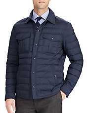 Quilted Down Collared Jacket