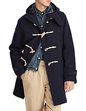 Hooded Toggle Wool Coat. Quick View · POLO RALPH LAUREN · Hooded Toggle  Wool Coat. $1,095.00