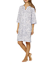 Three Quarter Sleeve Night Gown