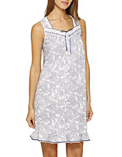 Aria Sleeveless Short Night Gown
