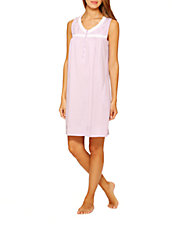 Lavender Sleeveless Nightgown
