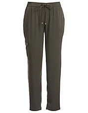 Ankle-Length Drawstring Pants