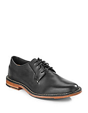 Grover Finished Leather Oxfords