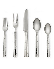 Larabee Dot Five-Piece Flatware set