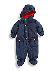Infant Boys Quilted Pram Suit