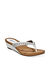Haloe Wedge Sandals