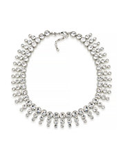 Dramatic Crystal Collar Necklace