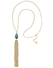 Teardrop Tassel Y-Necklace