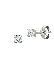 0.50 ct. t.w. Brilliant Cut Cubic Zirconia Stud Earring