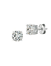 2.00 cttw Brilliant Cut Cubic Zirconia Stud Earring