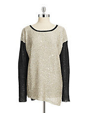 Colourblocked Sparkle Knit