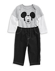 Two-Piece Mickey Mouse Set