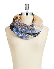 Boucle Buffalo Check Loop Scarf