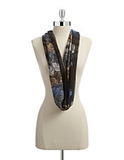 Feathers Infinity Loop Scarf