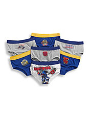 Boys 2 to 7 Seven Pack Transformers Boys Underwear