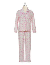 Floral Plaid Pyjama Set