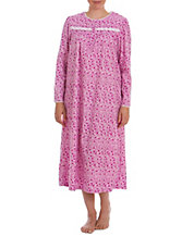 Ditsy-Print Nightgown