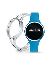 Ladies Activity Tracker Fashionfit Watch In Turquoise/Silver Ak-2011TFIT