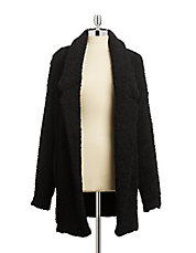 Shag Knit Coat