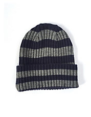 Rugby Striped Turn Cuff Tuque