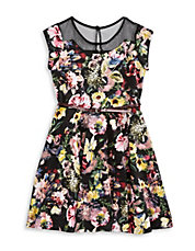 Floral Illusion Dress