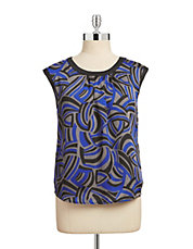 Abstract Swirl Printed Camisole
