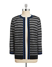 Window Panel Knit Cardigan
